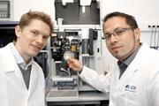 Portrait Dr. Georg Schendzielorz und Dr. Stephan Binder, IBG-1, Go-Bio, Preisträger