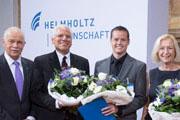 18 SEP 2014, BERLIN/GERMANY:Abendveranstaltung anl. der Jahrestagung 2014 der Helmholtz Gemeinschaft, Telekom HauptstadtrepraesentanzIMAGE: 20140918-01