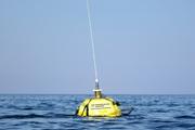 Schwimmen und messen Diese Nordsee-Boje gehört zum Projekt COSYNA; sie ist Teil eines weltweit einzigartigen Datennetzes