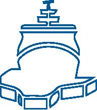 Grafik eines Polarschiffs
